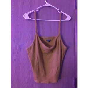 wild fable Tops - 💜2 for 10💜yellow cropped tank